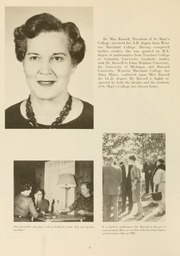 Page 10, 1965 Edition, St Marys College - Dove Castellan Yearbook (St Marys City, MD) online yearbook collection