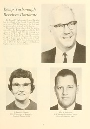 Page 11, 1965 Edition, St Marys College - Dove Castellan Yearbook (St Marys City, MD) online yearbook collection