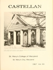 Page 5, 1967 Edition, St Marys College - Dove Castellan Yearbook (St Marys City, MD) online yearbook collection