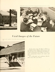 Page 9, 1967 Edition, St Marys College - Dove Castellan Yearbook (St Marys City, MD) online yearbook collection