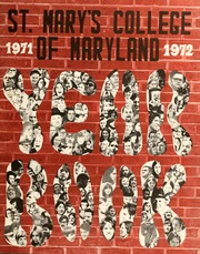 1972 Edition, St Marys College - Dove Yearbook / Castellan Yearbook (St Marys City, MD)
