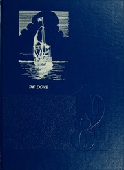 1981 Edition, St Marys College - Dove Yearbook / Castellan Yearbook (St Marys City, MD)