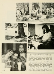 Page 14, 1981 Edition, St Marys College - Dove Castellan Yearbook (St Marys City, MD) online yearbook collection