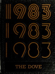 1983 Edition, St Marys College - Dove Yearbook / Castellan Yearbook (St Marys City, MD)