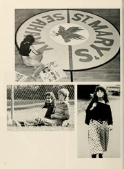 Page 8, 1985 Edition, St Marys College - Dove Castellan Yearbook (St Marys City, MD) online yearbook collection