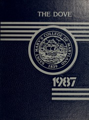1987 Edition, St Marys College - Dove Yearbook / Castellan Yearbook (St Marys City, MD)