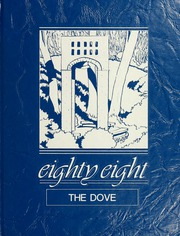 1988 Edition, St Marys College - Dove Castellan Yearbook (St Marys City, MD)