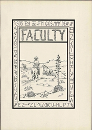 Page 13, 1930 Edition, Western New Mexico University - Westerner Yearbook (Silver City, NM) online yearbook collection