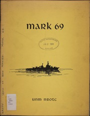 University of New Mexico NROTC - Mark Yearbook (Albuquerque, NM) online yearbook collection, 1969 Edition, Page 1