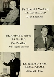 Page 10, 1964 Edition, West Virginia University School of Medicine - Pylon Yearbook (Morgantown, WV) online yearbook collection
