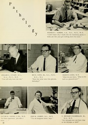 Page 16, 1964 Edition, West Virginia University School of Medicine - Pylon Yearbook (Morgantown, WV) online yearbook collection