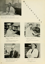 Page 17, 1964 Edition, West Virginia University School of Medicine - Pylon Yearbook (Morgantown, WV) online yearbook collection