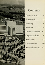Page 7, 1964 Edition, West Virginia University School of Medicine - Pylon Yearbook (Morgantown, WV) online yearbook collection