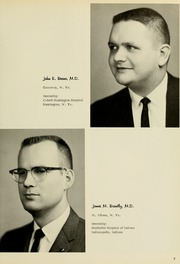 Page 13, 1966 Edition, West Virginia University School of Medicine - Pylon Yearbook (Morgantown, WV) online yearbook collection