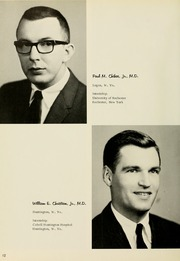 Page 16, 1966 Edition, West Virginia University School of Medicine - Pylon Yearbook (Morgantown, WV) online yearbook collection