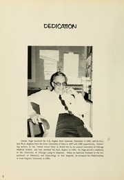 Page 6, 1966 Edition, West Virginia University School of Medicine - Pylon Yearbook (Morgantown, WV) online yearbook collection