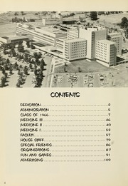 Page 8, 1966 Edition, West Virginia University School of Medicine - Pylon Yearbook (Morgantown, WV) online yearbook collection