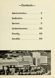 Page 7, 1968 Edition, West Virginia University School of Medicine - Pylon Yearbook (Morgantown, WV) online yearbook collection