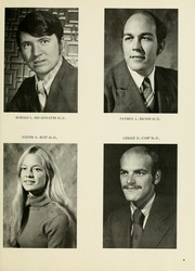 Page 13, 1972 Edition, West Virginia University School of Medicine - Pylon Yearbook (Morgantown, WV) online yearbook collection
