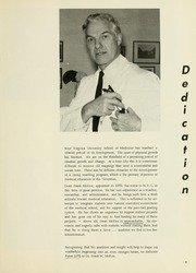 Page 9, 1972 Edition, West Virginia University School of Medicine - Pylon Yearbook (Morgantown, WV) online yearbook collection
