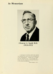 Page 10, 1973 Edition, West Virginia University School of Medicine - Pylon Yearbook (Morgantown, WV) online yearbook collection