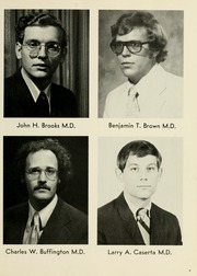 Page 13, 1973 Edition, West Virginia University School of Medicine - Pylon Yearbook (Morgantown, WV) online yearbook collection