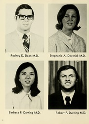 Page 16, 1973 Edition, West Virginia University School of Medicine - Pylon Yearbook (Morgantown, WV) online yearbook collection