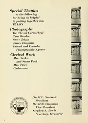 Page 6, 1973 Edition, West Virginia University School of Medicine - Pylon Yearbook (Morgantown, WV) online yearbook collection