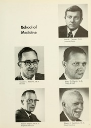 Page 11, 1976 Edition, West Virginia University School of Medicine - Pylon Yearbook (Morgantown, WV) online yearbook collection