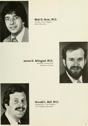 Page 13, 1976 Edition, West Virginia University School of Medicine - Pylon Yearbook (Morgantown, WV) online yearbook collection