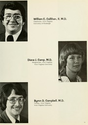 Page 15, 1976 Edition, West Virginia University School of Medicine - Pylon Yearbook (Morgantown, WV) online yearbook collection