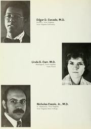Page 16, 1976 Edition, West Virginia University School of Medicine - Pylon Yearbook (Morgantown, WV) online yearbook collection