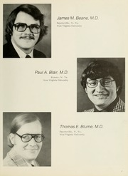 Page 11, 1977 Edition, West Virginia University School of Medicine - Pylon Yearbook (Morgantown, WV) online yearbook collection