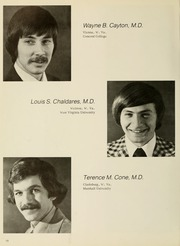 Page 14, 1977 Edition, West Virginia University School of Medicine - Pylon Yearbook (Morgantown, WV) online yearbook collection