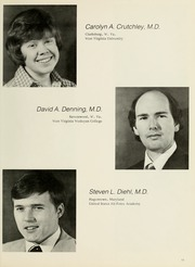 Page 15, 1977 Edition, West Virginia University School of Medicine - Pylon Yearbook (Morgantown, WV) online yearbook collection