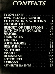 Page 6, 1981 Edition, West Virginia University School of Medicine - Pylon Yearbook (Morgantown, WV) online yearbook collection