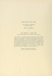 Page 8, 1936 Edition, Boston State College - Bostonian / Lampas Yearbook (Boston, MA) online yearbook collection