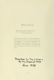 Page 10, 1938 Edition, Boston State College - Bostonian / Lampas Yearbook (Boston, MA) online yearbook collection