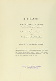 Page 8, 1938 Edition, Boston State College - Bostonian / Lampas Yearbook (Boston, MA) online yearbook collection