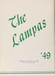Page 6, 1949 Edition, Boston State College - Bostonian / Lampas Yearbook (Boston, MA) online yearbook collection
