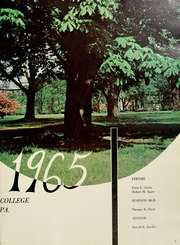 Page 7, 1965 Edition, Delaware Valley College - Cornucopia Yearbook (Doylestown, PA) online yearbook collection