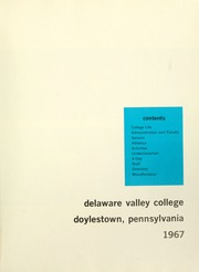 Page 5, 1967 Edition, Delaware Valley College - Cornucopia Yearbook (Doylestown, PA) online yearbook collection