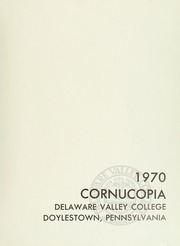 Page 5, 1970 Edition, Delaware Valley College - Cornucopia Yearbook (Doylestown, PA) online yearbook collection