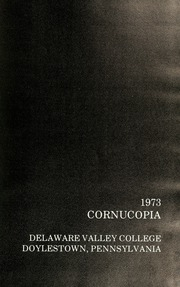 Page 5, 1973 Edition, Delaware Valley College - Cornucopia Yearbook (Doylestown, PA) online yearbook collection