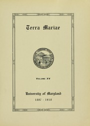 Page 9, 1918 Edition, University of Maryland School of Pharmacy - Terra Mariae Yearbook (Baltimore, MD) online yearbook collection