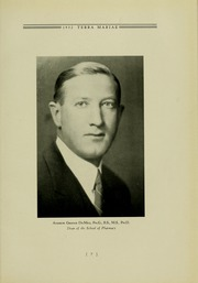 Page 11, 1932 Edition, University of Maryland School of Pharmacy - Terra Mariae Yearbook (Baltimore, MD) online yearbook collection