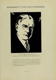 Page 13, 1932 Edition, University of Maryland School of Pharmacy - Terra Mariae Yearbook (Baltimore, MD) online yearbook collection