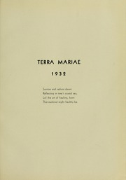 Page 5, 1932 Edition, University of Maryland School of Pharmacy - Terra Mariae Yearbook (Baltimore, MD) online yearbook collection