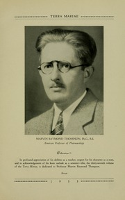 Page 15, 1933 Edition, University of Maryland School of Pharmacy - Terra Mariae Yearbook (Baltimore, MD) online yearbook collection
