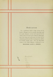 Page 10, 1935 Edition, University of Maryland School of Pharmacy - Terra Mariae Yearbook (Baltimore, MD) online yearbook collection